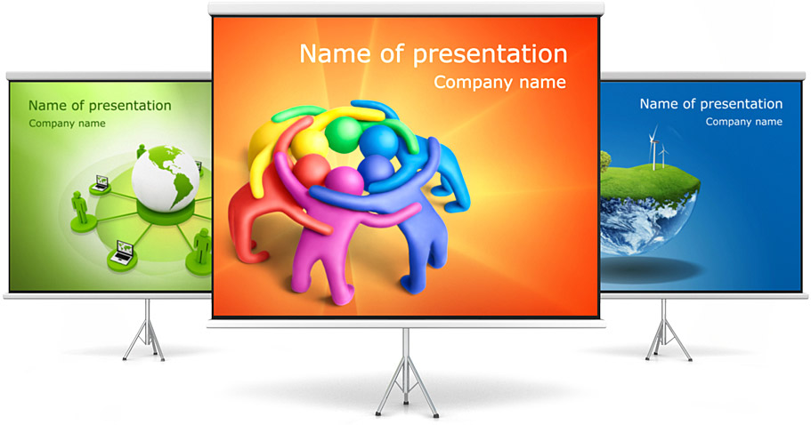 Language  PowerPoint Template  SmileTemplatescom