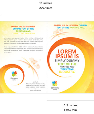 Brochure Templates Features SmileTemplatescom - Foldable brochure template