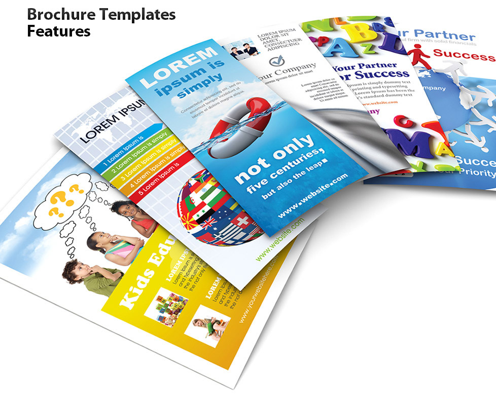 Brochure Templates Features SmileTemplatescom - Product brochure templates free download