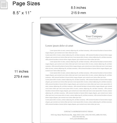 Letterhead templates features smiletemplates page sizes spiritdancerdesigns Images