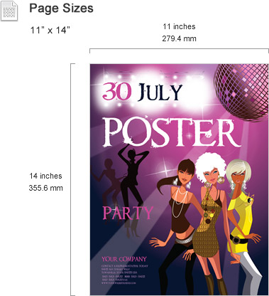 publisher poster templates