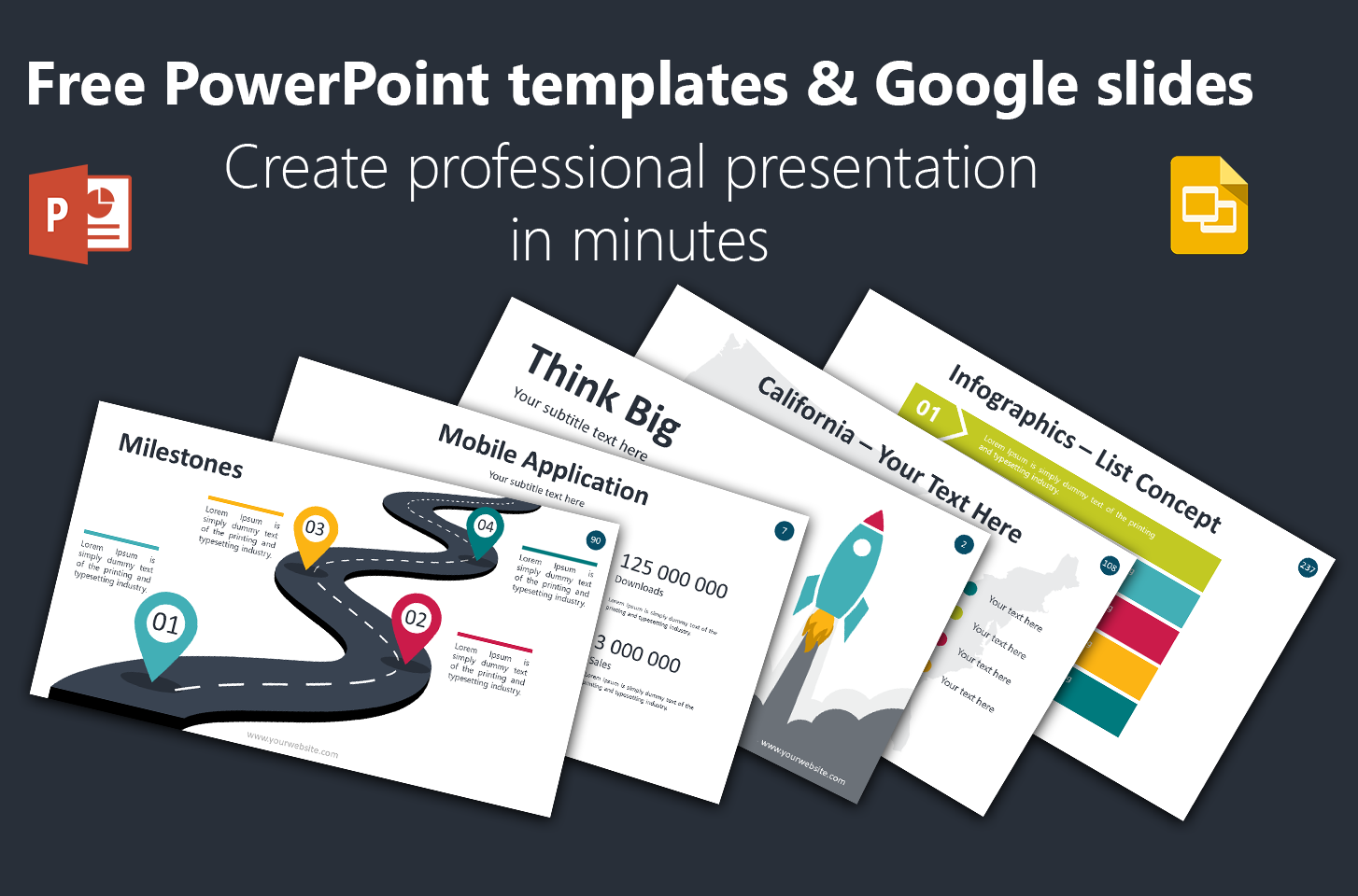 Free Powerpoint Templates Backgrounds Google Slides Themes