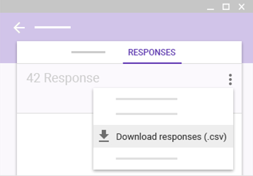 Google Forms – Viewing Your Survey Responses And Downloading